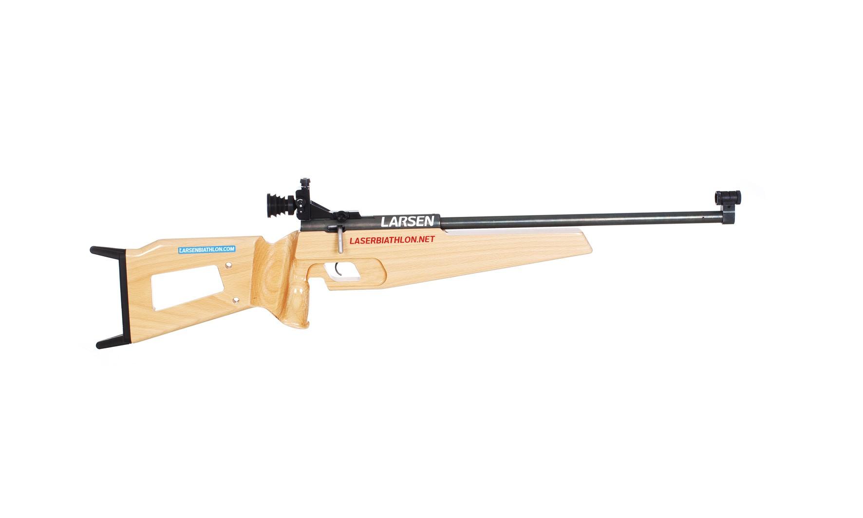 larsen laser rifle lasershooting